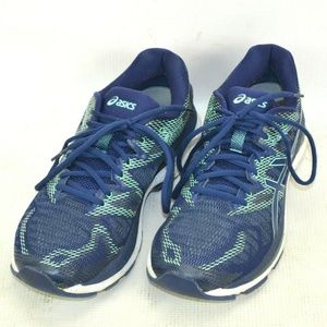 Asics Gel Nimbus 20 Running Shoes Womens 10 M Blue
